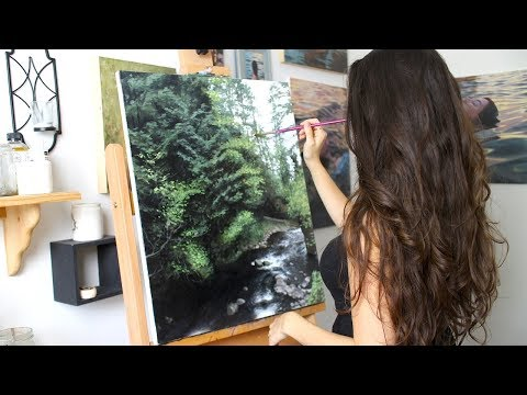 Oil Painting Time Lapse | Oregon Landscape