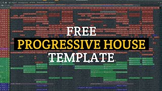 [FREE FLP] Progressive House Template with vocals   Free Progressive House FLP