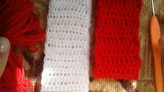 Повязка на голову крючком за 10 минут.  Headband crochet for 10 minutes.