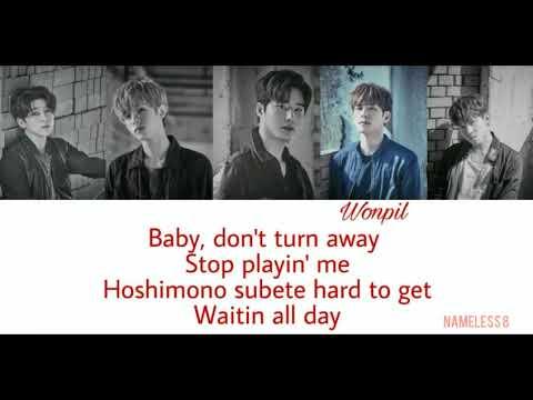 DAY6 - I Wait ( English & Japanese Ver) Color Coded Lyrics
