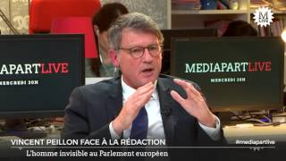 Que fait Vincent Peillon au Parlement européen?