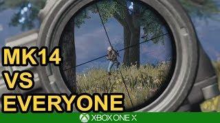 7 KILLS IN THE TOP 10 / PUBG Xbox One X