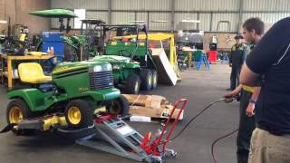 Glenmac's Under 1 Minute Lift with ProLift Lawn Mower Lift