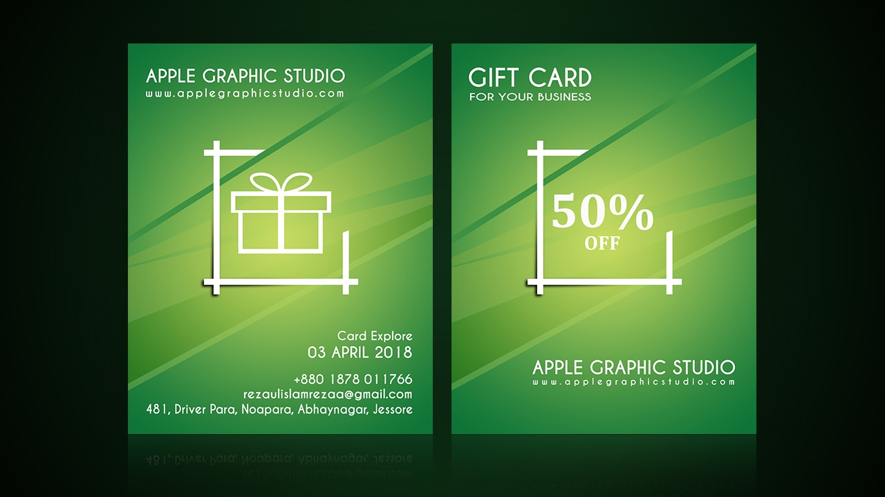 How To Design A Gift Card Photoshop Cc Tutorial 2017 Youtube