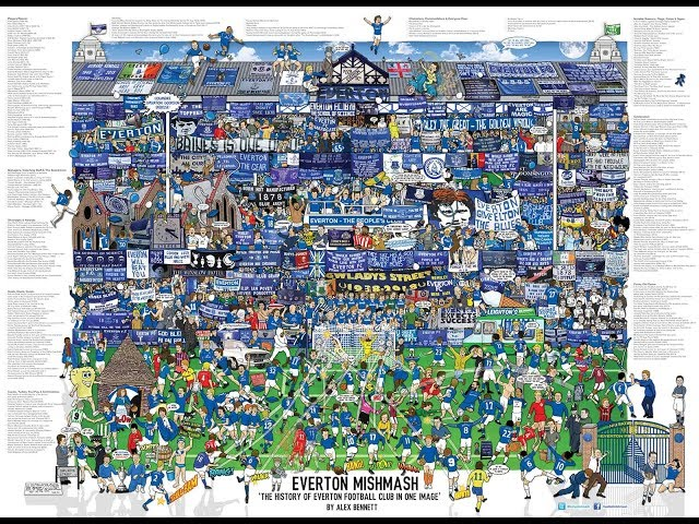 GrandOldTeam - Reviewing the Everton Mishmash poster