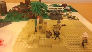 Lego WW2 Battle of El Alamein