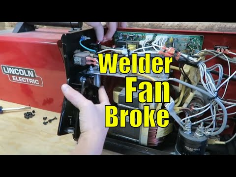 TG Welder Fan Replacement – 140HD Lincoln Electric