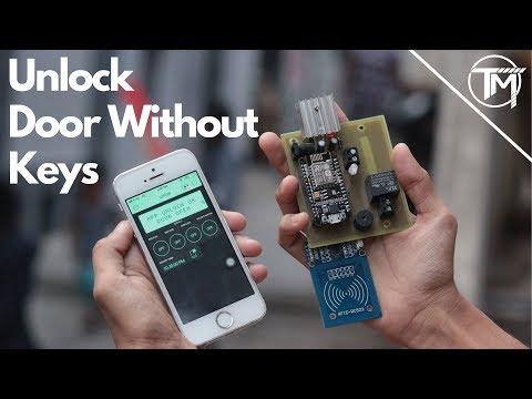 SMART LOCK || RFID + IOT+MANUAL LOCK