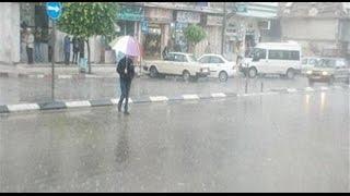 """""""الأرصاد الجوية """" تحذر المواطنين : عواصف ترابية و أمطار غزيرة الأسبوع القادم"""