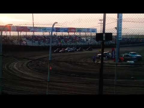 POWRi Midgets Heat 3  Macon Speedway