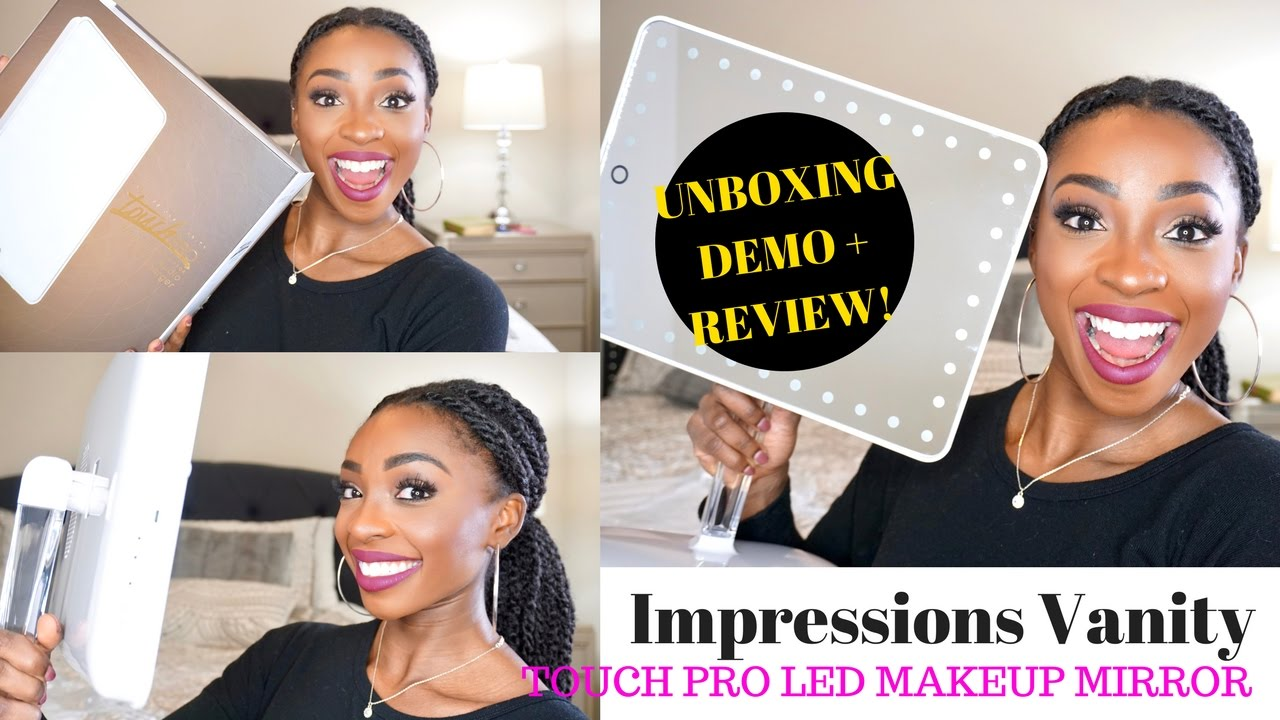 Unboxing Review Impressions Vanity Touch Pro Led Makeup Mirror