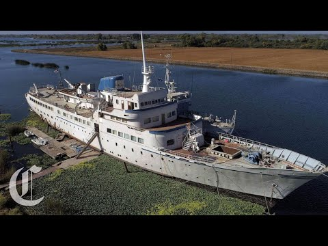 Resurrecting the Aurora, A Derelict 65-Year-Old Luxury Cruise Ship Shipwrecked in the Delta
