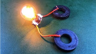 Make Free Energy Generator Experiment With Magnet Using DC Motor New Technology Idea 2018