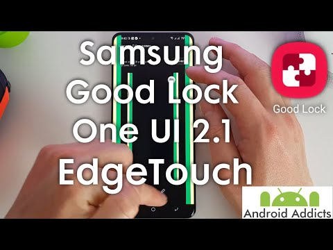 Samsung Good Lock (2020) One UI 2.1 - EdgeTouch