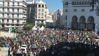 Algérie : les images des manifestations dans la capitale