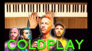 Speed of Sound (Coldplay) [Piano Tutorial Easy]