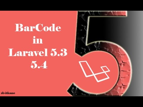 Generate a BarCode in laravel