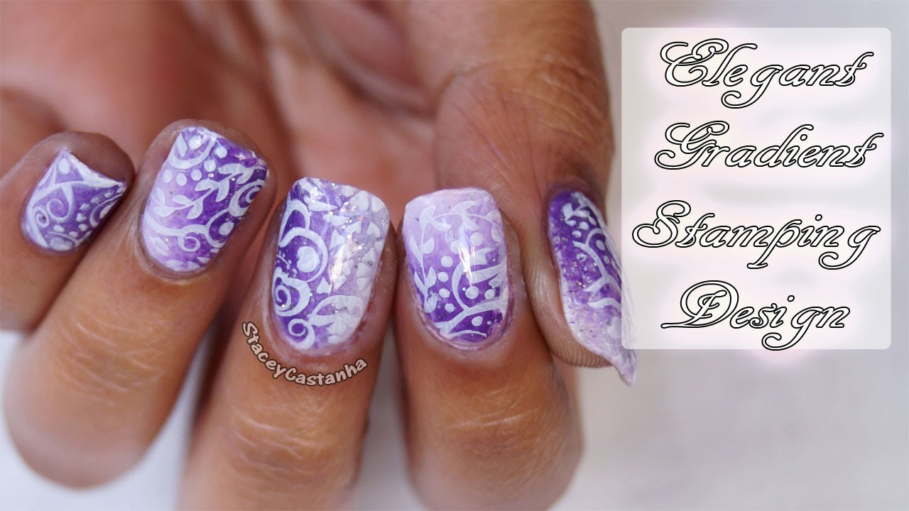 How to Reverse Stamping Nailart? Tutorial - YouTube