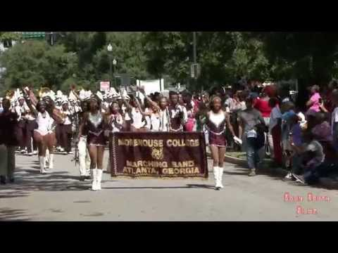 Morehouse College Marching in Columbus, GA