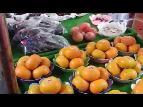台北の雙連市場 (雙連朝市)の風景 台湾旅行