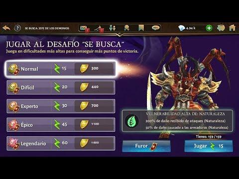 TRUCO PARA TENER MAS PUNTOS (DESAFIÓ DE SE BUSCA )    DUNGEON HUNTER 5