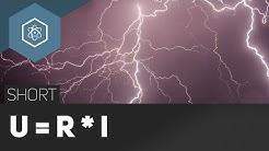U = R * I – Ohmsches Gesetz - #TheSimpleShort ● Gehe auf SIMPLECLUB.DE/GO & werde #EinserSchüler