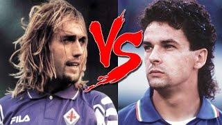 Roberto Baggio VS Gabriel Batistuta