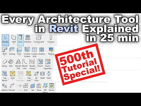 Learn Every Architecture Tool in Revit Tutorial thumbnail