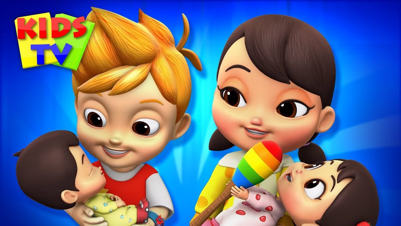 Rock A Bye Baby | Nursery Rhymes & Kids Songs | Baby Songs to Sleep | Boom Buddies Cartoons