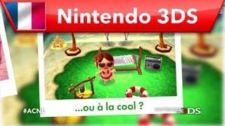 Animal Crossing : New Leaf - Publicité version Fille (Nintendo 3DS)