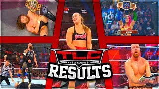 WWE TLC 2018 FULL SHOW RESULTS (WWE TLC 2018 RESULTS)