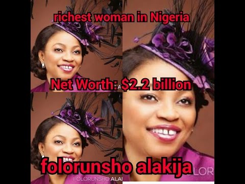 the richest woman in Nigeria