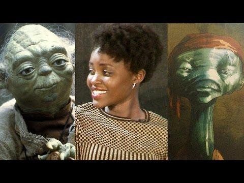 Star Wars MAZ KANATA & YODA - Lupita Nyong