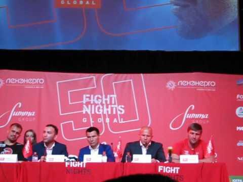 FIGHT NIGHTS GLOBAL 50
