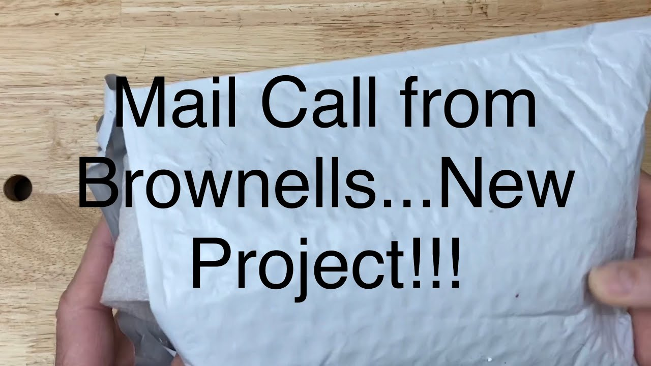 Mail Call from Brownells...New Project!!! #Brownells #Project #2AStrong