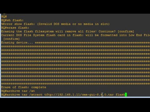 Unable o extract files into a router flash in GNS3