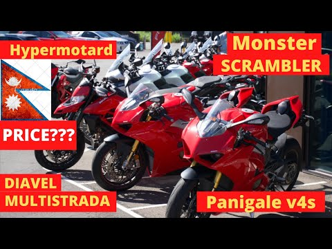 Price Of Ducatis In Australia || Nepalese Motovlogger || Panigale Monsters Diavel Hypermotard , Etc