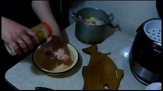 Курица с картошкой в духовке (Вкус Няшкино)