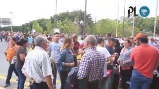 Cierre de Aeropuerto La Aurora afecto a cientos de viajeros