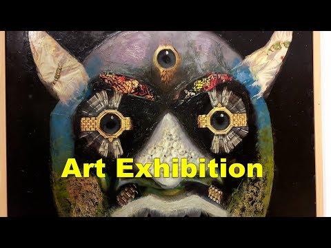 Art Exhibition 2018 kolkata ,india