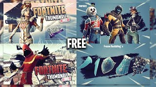FREE Fortnite Thumbnail Template v3 | SEASON 7 | [2018] | SunnyArts