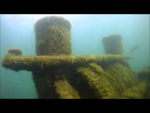 Underwater video footage of shipwreck off Rochester, NY by Jamie Montanus