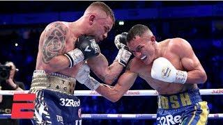 Josh Warrington beats Carl Frampton to retain IBF World Featherweight belt | Boxing Highlights