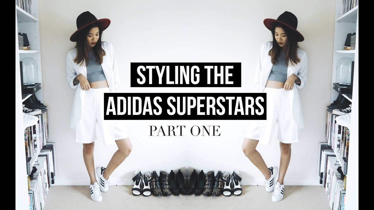 Adidas Superstar Womens With Jeans