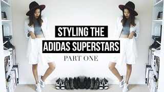 One of idressmyselff's most viewed videos: STYLING THE ADIDAS SUPERSTARS PART 1 | IDRESSMYSELFF