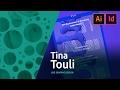 Graphic Design - Tina Touli creates a poster live 3/3