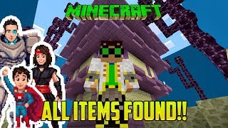 minecraft we did it all items found find the items minigame mod part 2