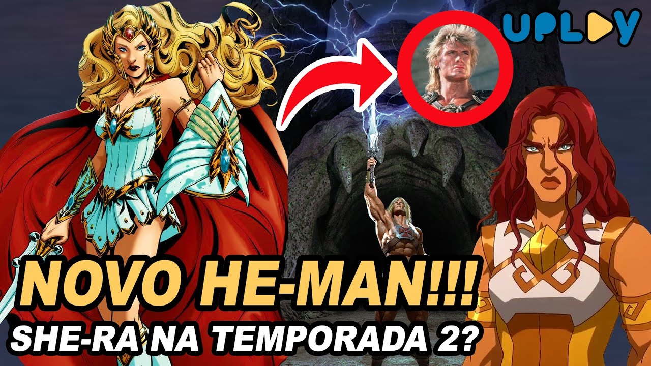A PARTE 1 DO HE-MAN DA NETFLIX... NADA DE SHE-RA?!