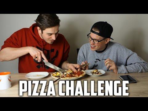 DIT IS HEERLIJK! - Pizza Challenge ft. Vincent & Jan