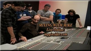Mixing With Mike Mixing Tip on Parallel Compression For Drums